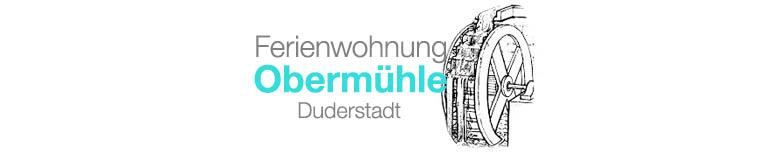 Obermühle Duderstadt Logo